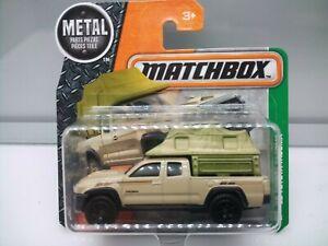 Matchbox Superfast / MB1051 - 2016 Toyota Tacoma Pickup Camper  - Model Car