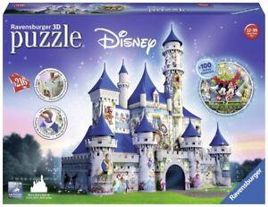 Disney Castle - Ravensburger 3D Jigsaw Puzzle (Limited Edition,  216 pieces)