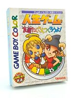 The Game of Life Jinsei Tomodachi Nintendo Game Boy Color GBC JAP Japan complet