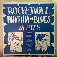 V/A Rock 'N' Roll Versus Rhythm And Blues LP Valmor ORIG US PRESS NM