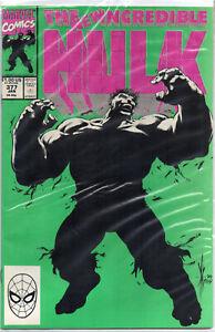 Incredible HULK #377 Professor Hulk 1st Appearance 1991