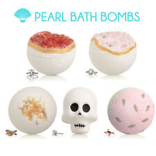 Pearl Bath Bombs With Surprise Ring Inside Large 9oz Spa Relaxation Gift Fizzies