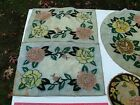 VINTAGE+ARTS+AND+CRAFTS+END+TABLE+TEXTILES%2C+THERE+ARE+5+PIECES