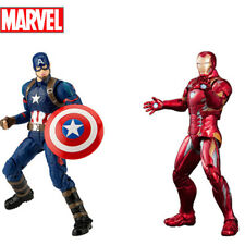 Marvel Super Hero Action Figure Toy Captain America Iron Man Model Kids Gift