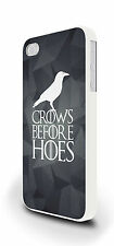Crows Before Hoes Night's Watch Cover Case for iPhone 4/4s 5/5s 5c 6 6 Plus
