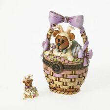 Boyds Jim Shore Treasure Box Easter Surprise. Eggs Aboard - New in Box