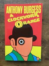 A Clockwork Orange Anthony Burgess Iconic Cover Skinhead Book