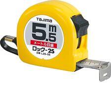 """TAJIMA / MEASURING TAPE """"LOCK 25 - 5.5m"""" / L25-55BL"""