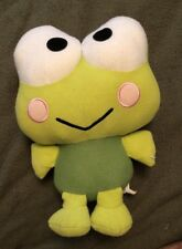 "Sanrio KEROPPI Plush Frog Fiesta Stuffed Animal Toy 12"""