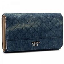 Denim women's wallet from Guess