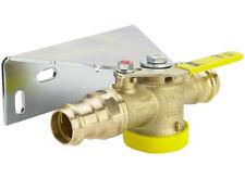 Viega Gas Einrohrzähler Gaszähler Kugelhahn DN 25 x 28mm Anschlussset Montageset
