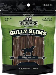 Redbarn Bully Beef Esophagus Junior Sticks Dog Treat 40pk     Free Shipping