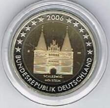 Duitsland 2 euro Proof PP 2006 G Sleeswijk-Holstein