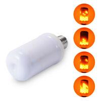 LAMPADINA LAMPADA LED 5W CORTA EFFETTO FIAMMA FUOCO MOVIMENTO ATTACCO E27 FLAME