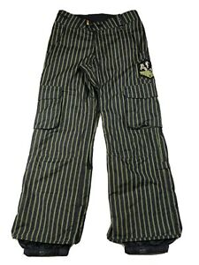 Burton Shaun White Collection Black Snow Pants Ski Snowboard Men's XS - Fits Big