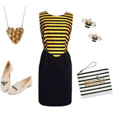 Kate Spade Down the Rabbit Hole Bee Necklace NWT Beautiful Witty Bee Pendant