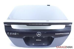 02-05 Mercedes W203 C230 Coupe Rear Trunk Lid Hatch Shell Glass Assembly A131