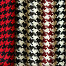 HEAVY ACRYLIC WINTER JACKET COAT CRAFTS FABRIC BIG 30 mm HOUNDSTOOTH CHECK 44'W
