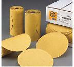 "Norton Gold 83822 6"" DA Stick Adhesive Back 320 Grit Sandpaper Roll 100 disc"