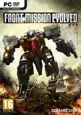 FRONT MISSION EVOLVED Square Enix Mech Combat PC Windows Game - UK Version NEW!
