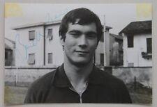 Autografo su fotografia giocatore Legnano 1971 Piero Binelli calcio