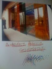 Agam Monographie Signed + 5 tirages photographique Expo
