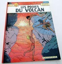 ALIX J MARTIN LES PROIES DU VOLCAN EO 1978 DEDICACE TTBE