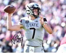 Nick Fitzgerald Mississippi State Reprinted autographed signed 8x10 photo