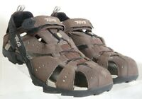 Teva Dozer Brown All Terrain Sport Hiking Trail Sandals 6704 Men's US 10