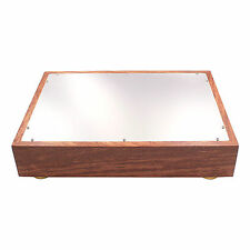 380x280x70mm wood aluminum chassis enclosure case for vintage amplifier DIY 1PC