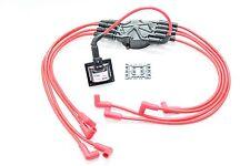 Distributor Blue 8.5mm Spark Plug Wires Coil 87-92 Camaro Iroc-Z Firebird TBI V8