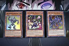 Yugioh Complete Toon Deck! Blue-Eyes Red-Eyes Dark Magician Table of Con + Bonus