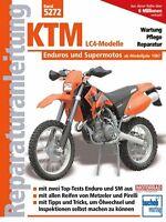 KTM LC4-Modelle Enduros Reparaturanleitung Reparaturbuch Reparatur-Handbuch Buch