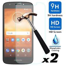 2Pcs 9H Hardness Tempered Glass Screen Protector Fr Motorola Moto E5 Play/Cruise