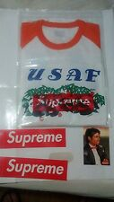 New Supreme Pandas Baseball Raglan Top Orange size  Large
