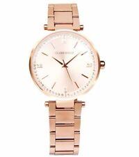 Globenfeld Starlight Quartz Watches For Women, 68 Swarovski Crystals Watch, Rose