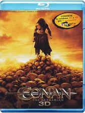 Blu Ray CONAN THE BARBARIAN (3D+2D) ....NUOVO