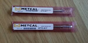 METCAL STTC-817 TIP CARTRIDGE SOLDERING TIP SET OF 2