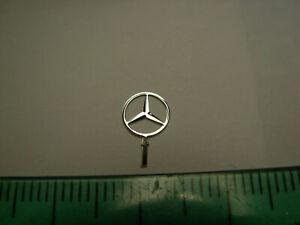 1/16 1/18 1/20 3D Mercedes Benz Star Radiator Logo Mascot Emblem Ornament badge