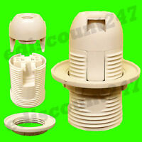 50+ TYPES CE CERTIFIED SES E14 ES E27 BC B22 Light Bulb Lamp Holder UK SELLER