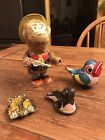 Lot of 4 Vintage Windup, Clicker and Friction Toys
