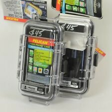 Set of 2 / PELICAN i1015 Case for iPhone & iPod Touch EXTERNAL JACK Clear