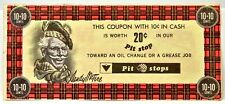 CANADIAN TIRE PIT STOPS COUPON 10+10 CENTS 20c