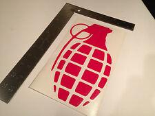red GRENADE GLOVES snowboard boots Sticker decal vinyl skate skateboarding KASS