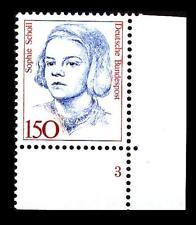 BUND Frauen  150 Pf.** postfrisch , Mi. 1497 -  Eckrand u.r. Formnummer 3