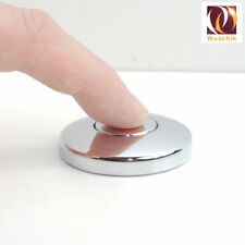 Balgtaster Drucklufttaster 44 mm Chrom Pneumatik Knopf Pneumatiktaster