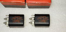 New Pair Chicago 5.3H 60mA HV Filter Choke Transformer Tube Amplifier Preamp USA