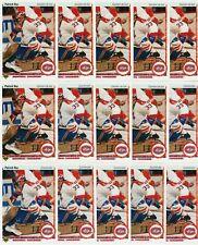 PATRICK ROY 30 CARD LOT 1990-91 UPPER DECK HOCKEY # 153 FRENCH & US MONTREAL HOF