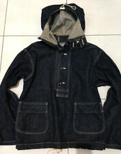 "Vintage PHERROW'S ""Stormy Blue"" hoodie denim jacket size S"