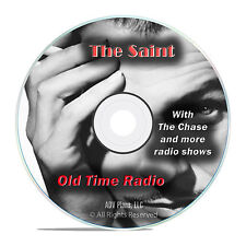 The Saint, 676 Old Time Radio Shows, Crime Drama Adventure OTR mp3 DVD G27